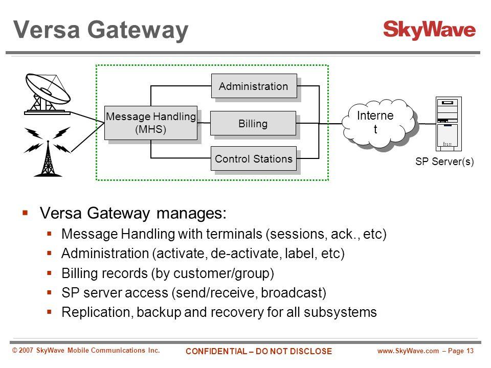 Message Handling (MHS)