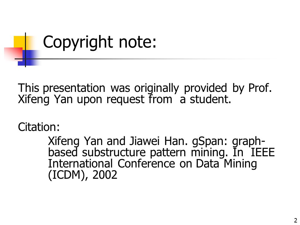 Copyright note: