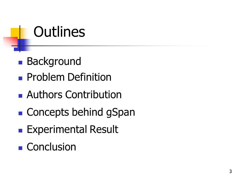 Background Problem Definition Authors Contribution