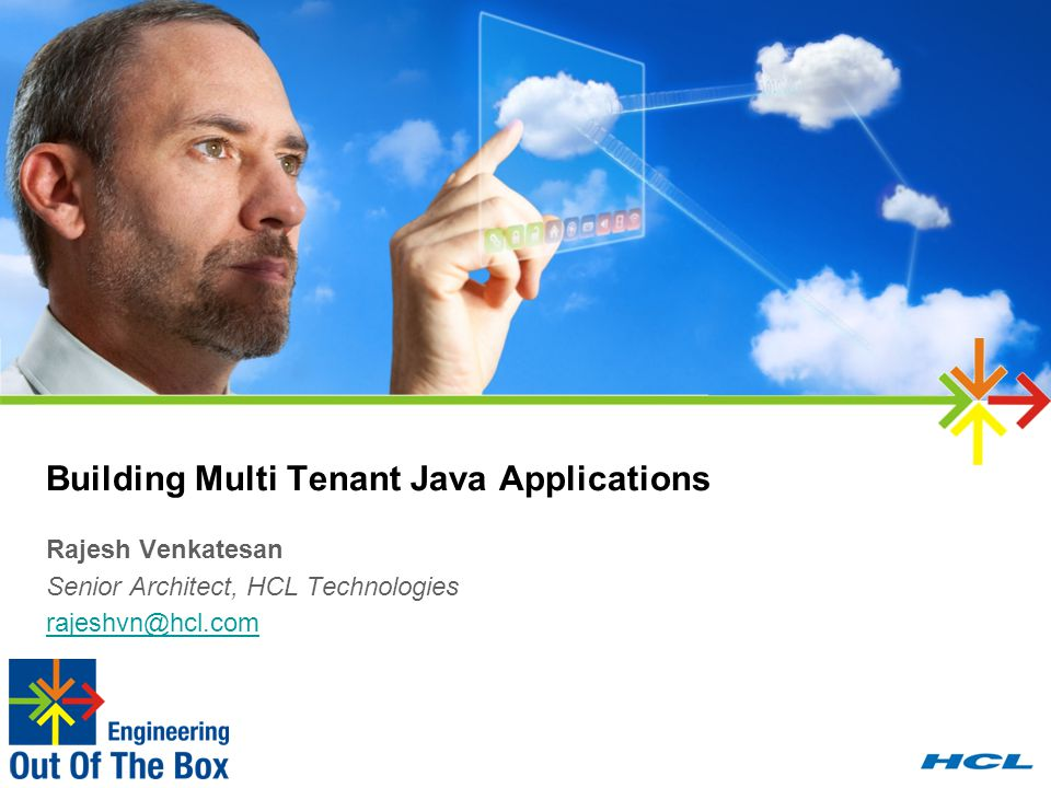 Building Multi Tenant Java Applications