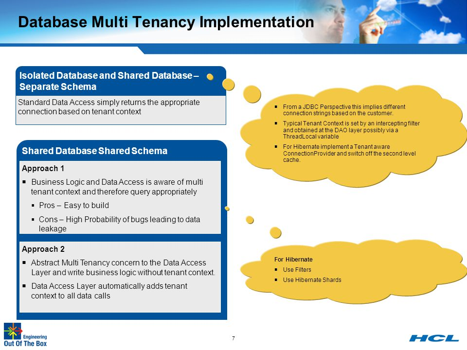 Database Multi Tenancy Implementation