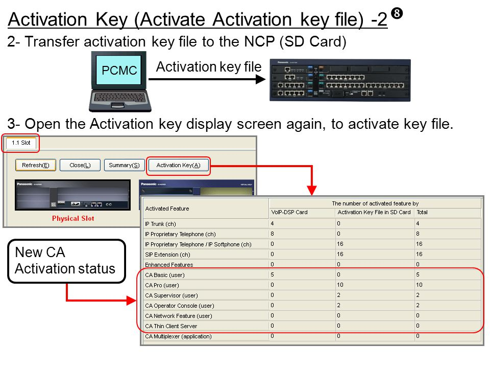 Activation Key (Activate Activation key file) -2