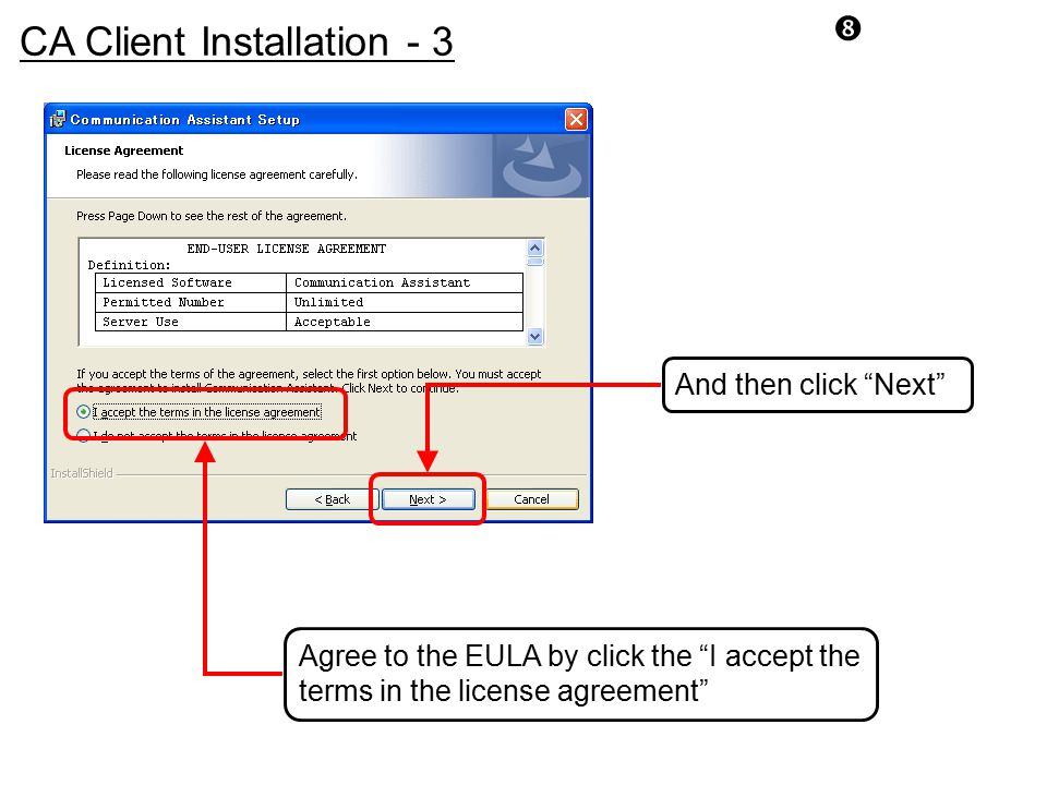 CA Client Installation - 3