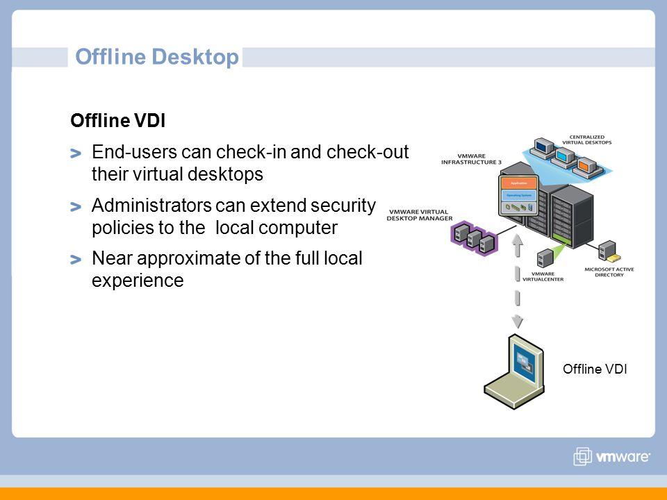 Offline Desktop Offline VDI