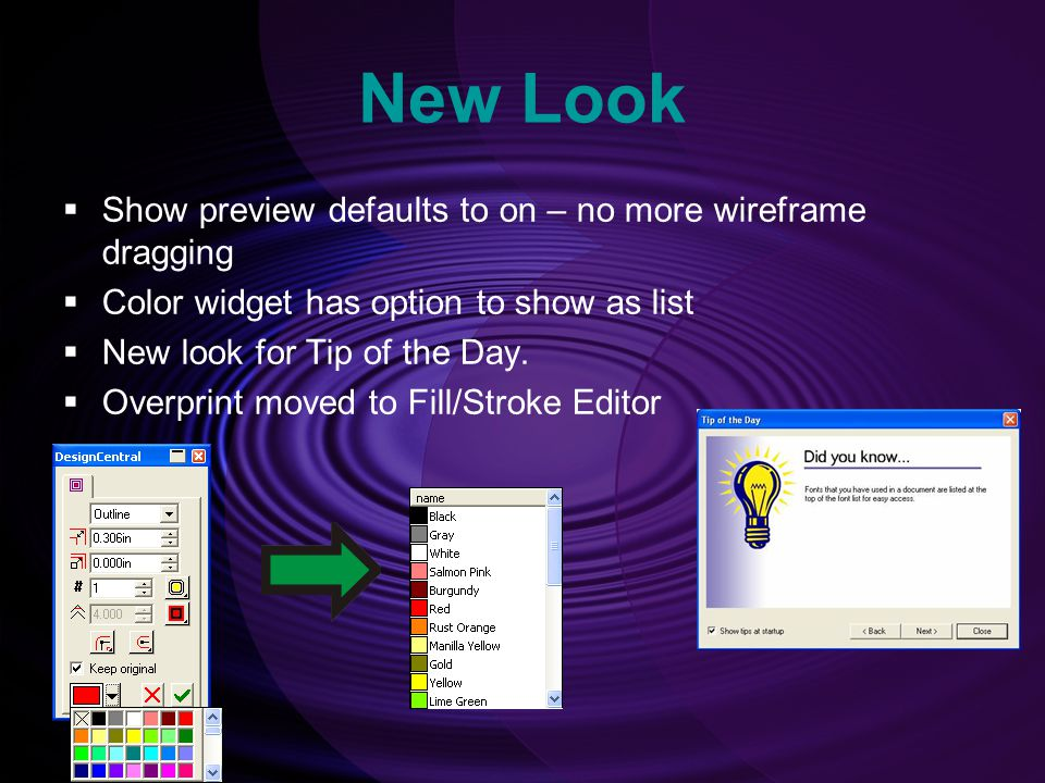New Look Show preview defaults to on – no more wireframe dragging