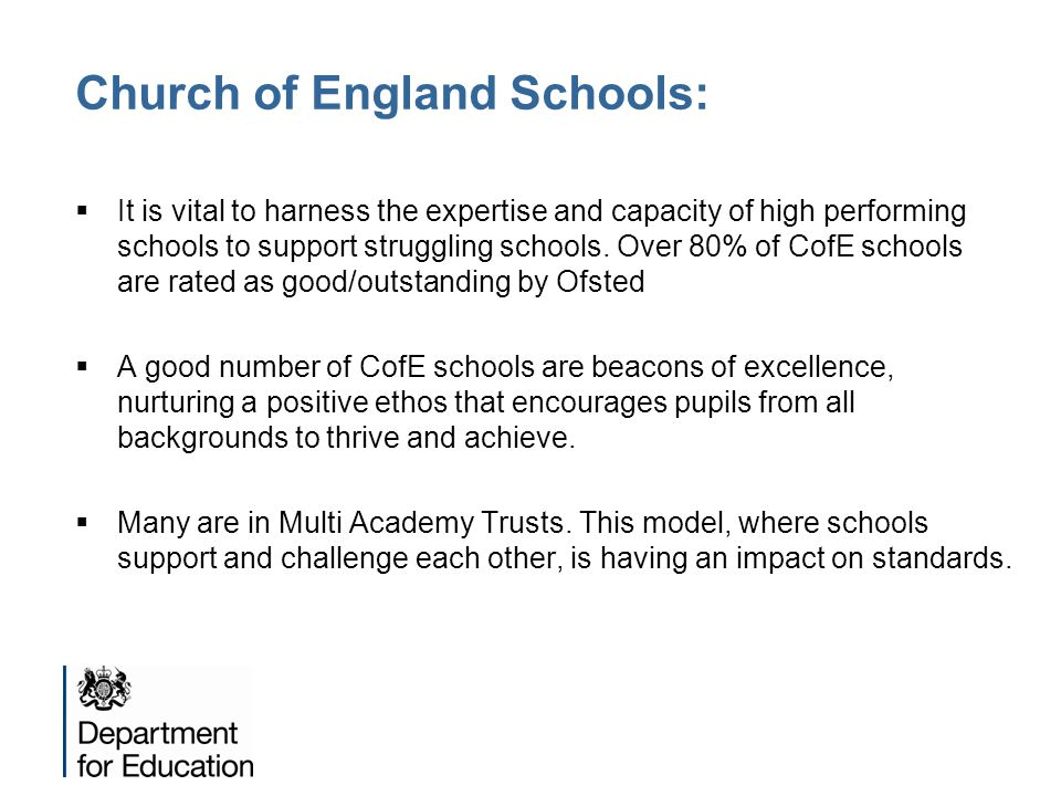 Church of England Schools: