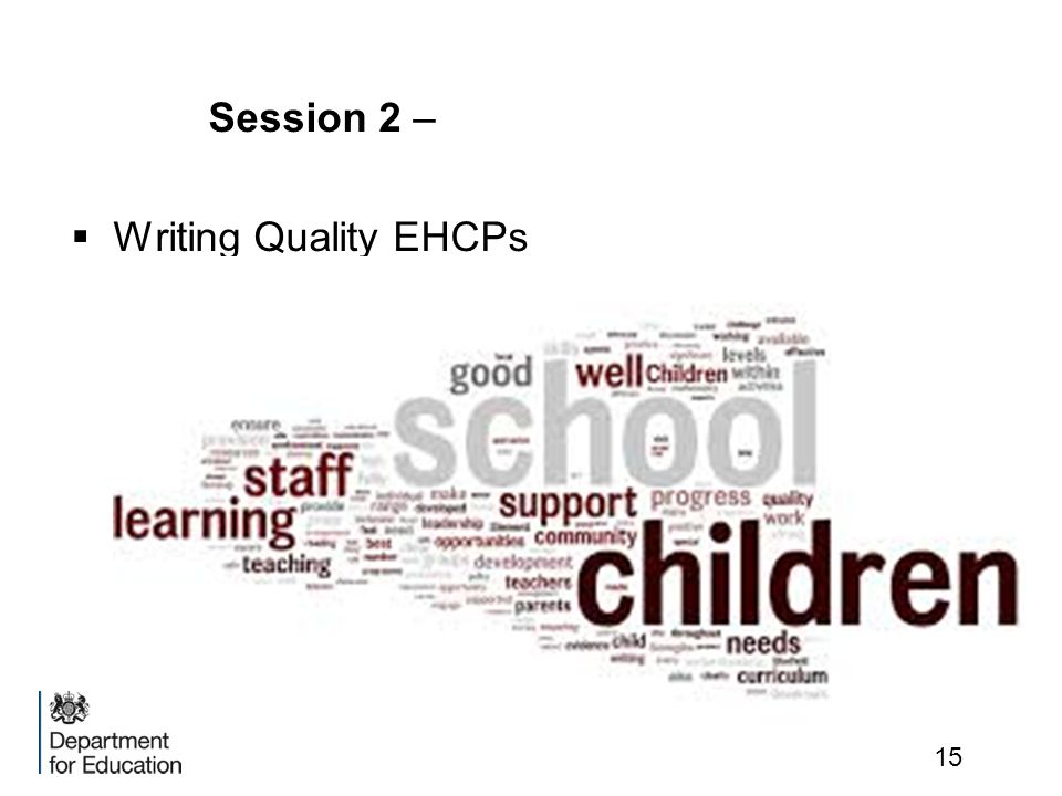 Session 2 – Writing Quality EHCPs