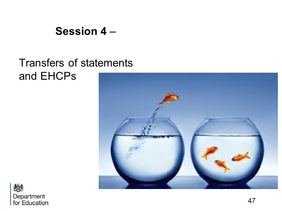 Session 4 – Transfers of statements and EHCPs