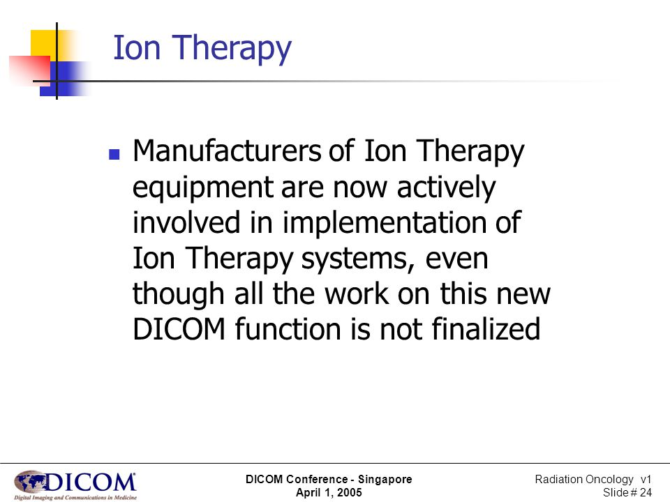 Ion Therapy