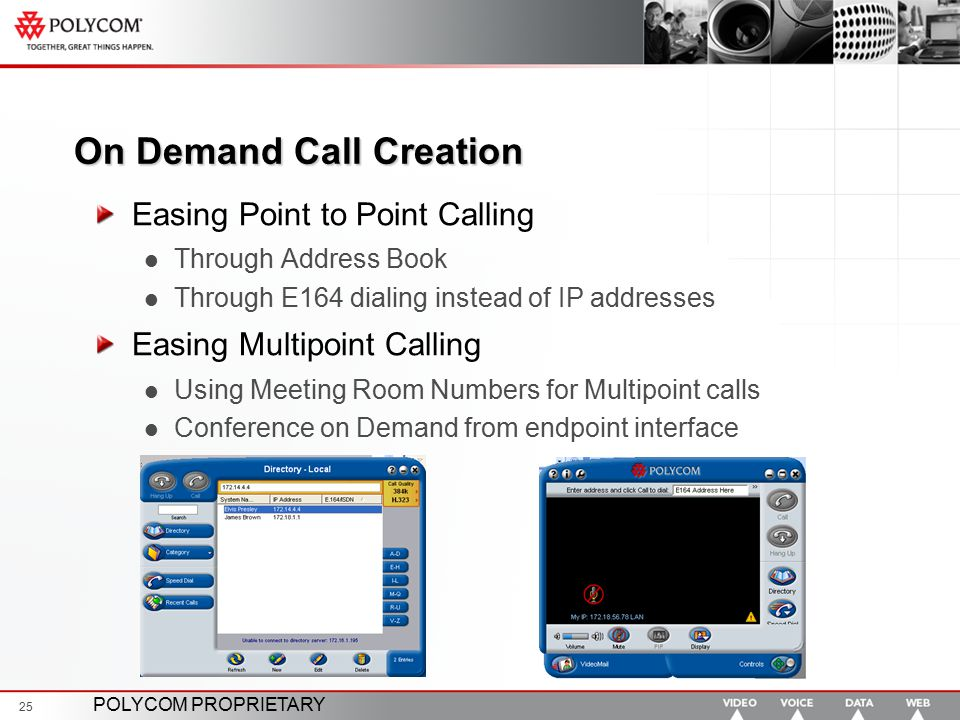 On Demand Call Creation