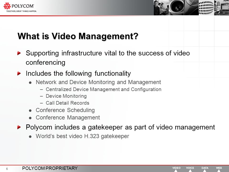 What is Video Management