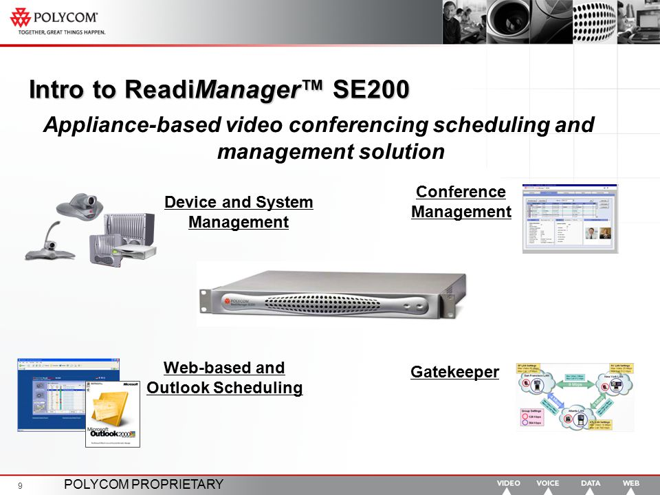Intro to ReadiManager™ SE200