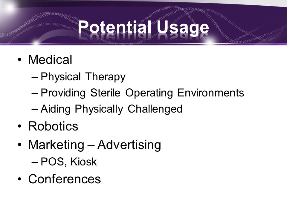 Potential Usage Medical Robotics Marketing – Advertising Conferences