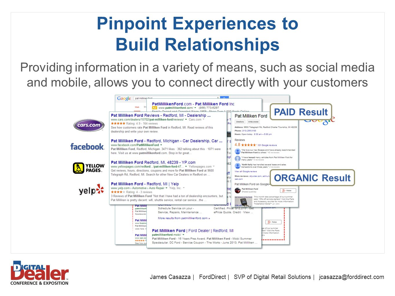 Pinpoint Experiences to Build Relationships