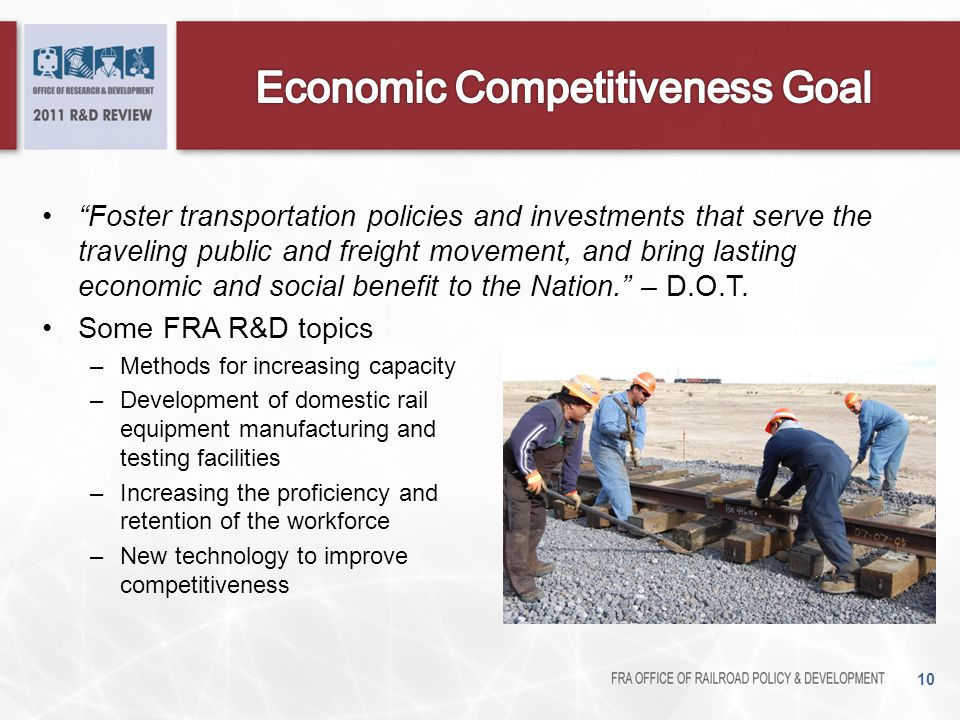 Economic Competitiveness Goal