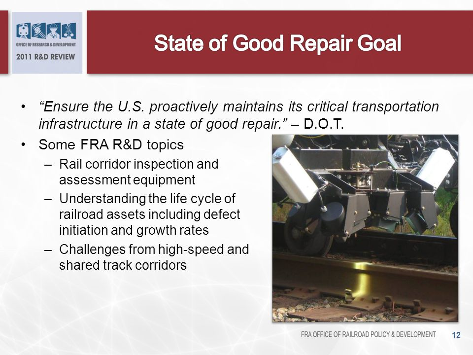 State of Good Repair Goal