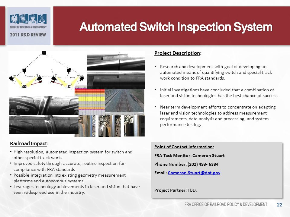 Automated Switch Inspection System