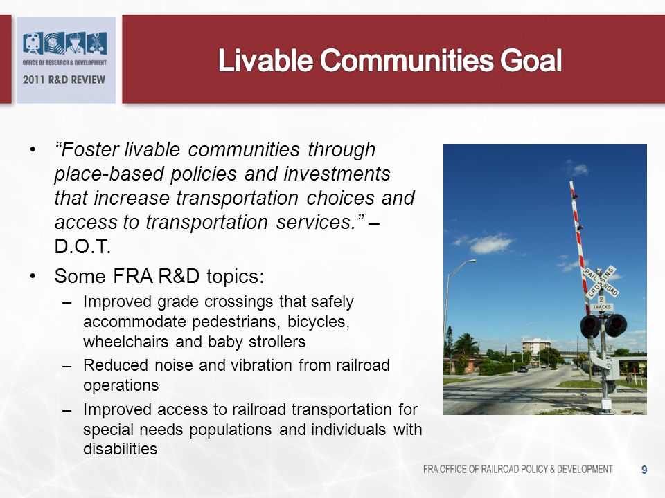 Livable Communities Goal
