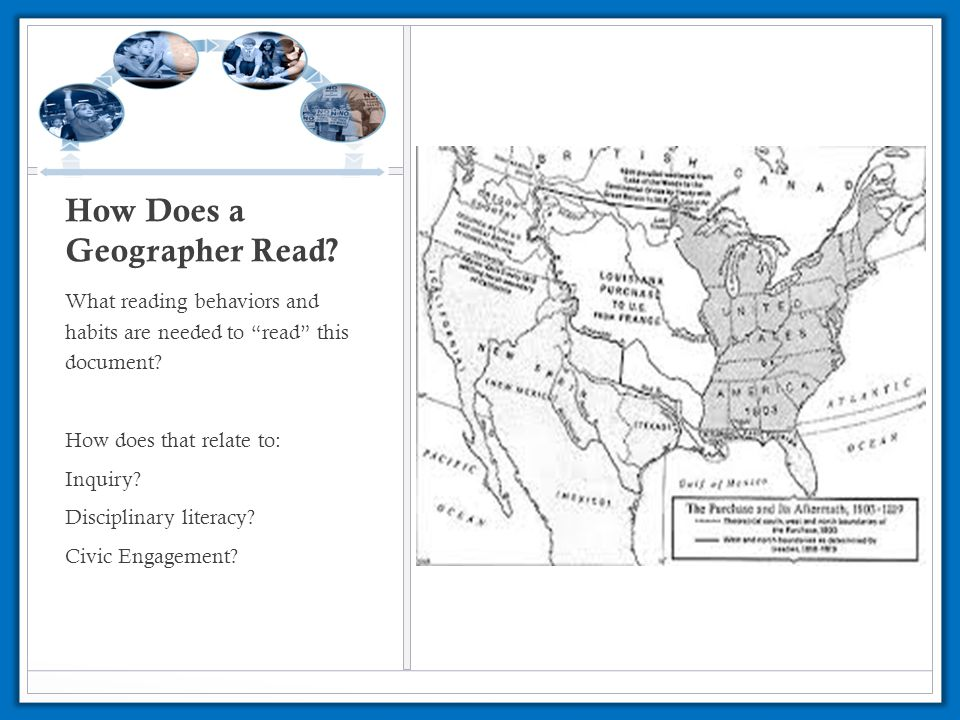 How Does a Geographer Read