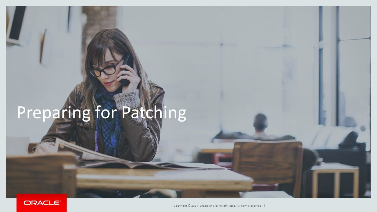 Preparing for Patching