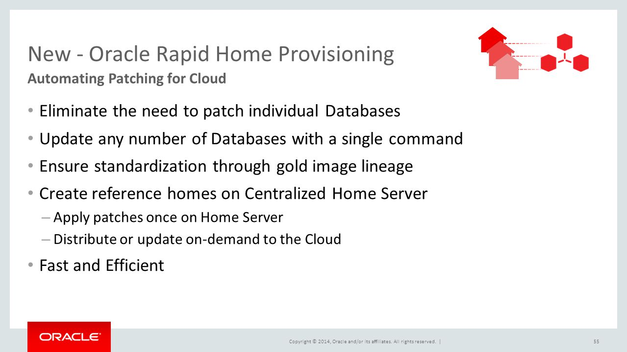 New - Oracle Rapid Home Provisioning