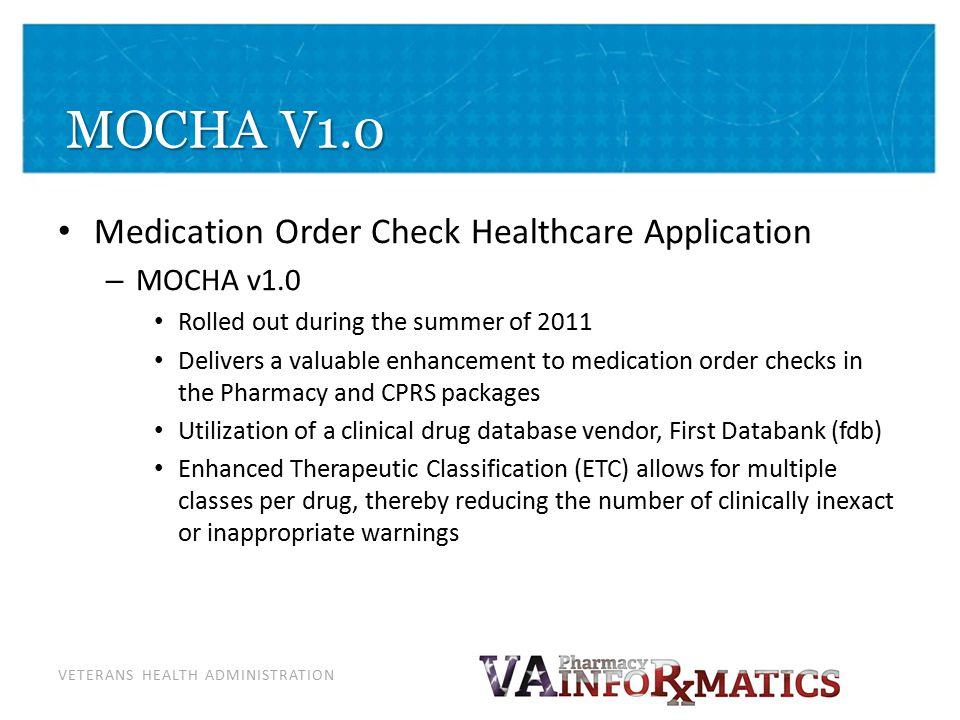 MOCHA V2.0 MOCHA v2.0 (Dosing) Development