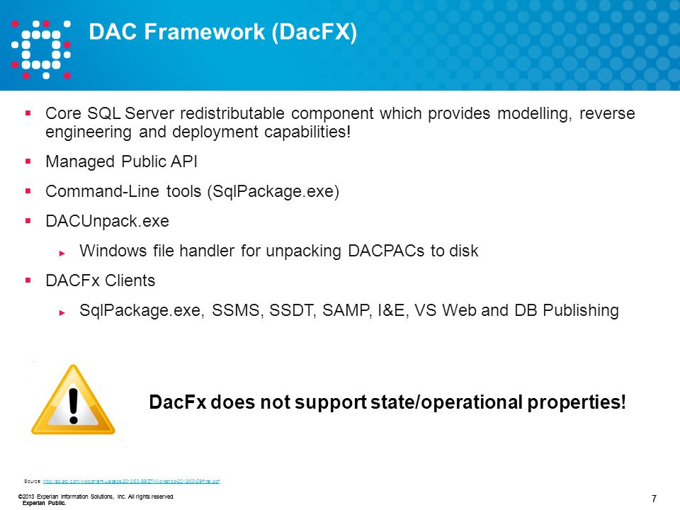 DAC Framework (DacFX) Core SQL Server redistributable component which provides modelling, reverse engineering and deployment capabilities!