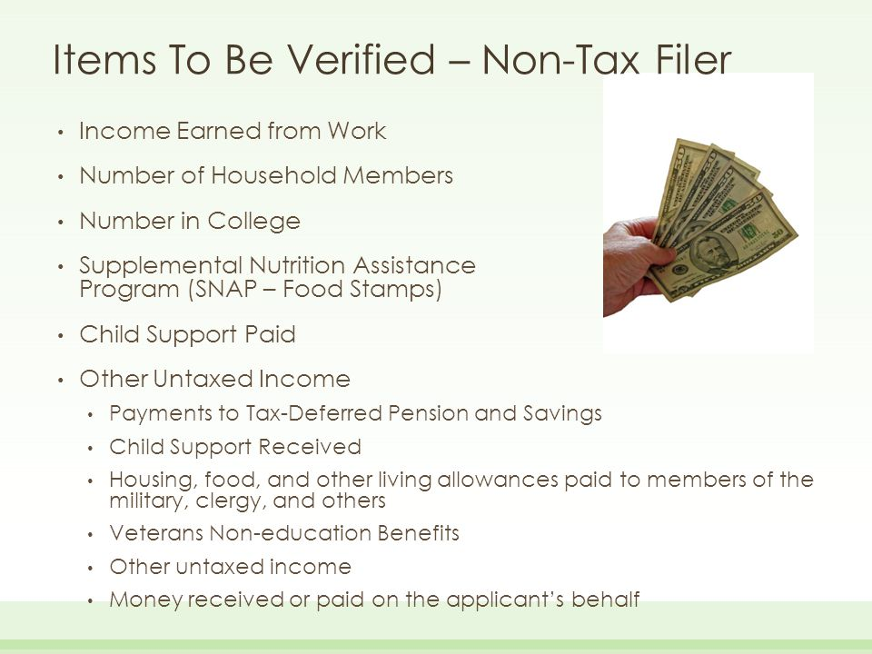 how to find untaxed income and benefits