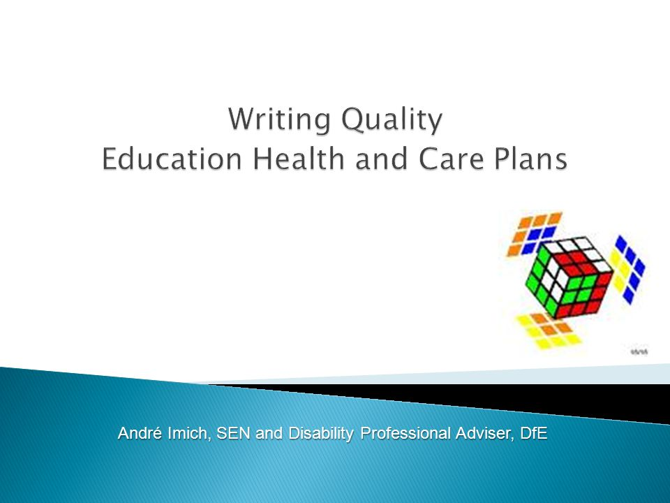 Writing Quality Education Health and Care Plans