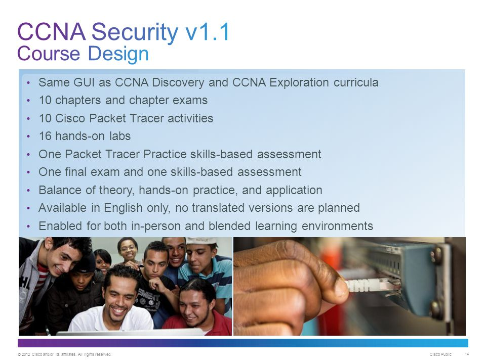 CCNA Security v1.1 Course Design