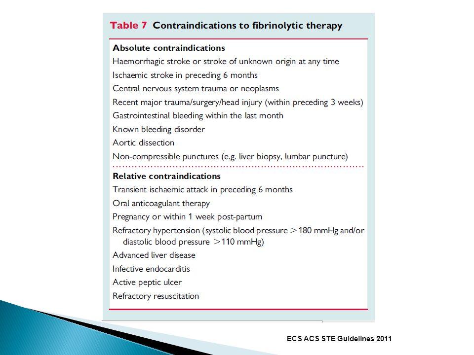 ECS ACS STE Guidelines 2011