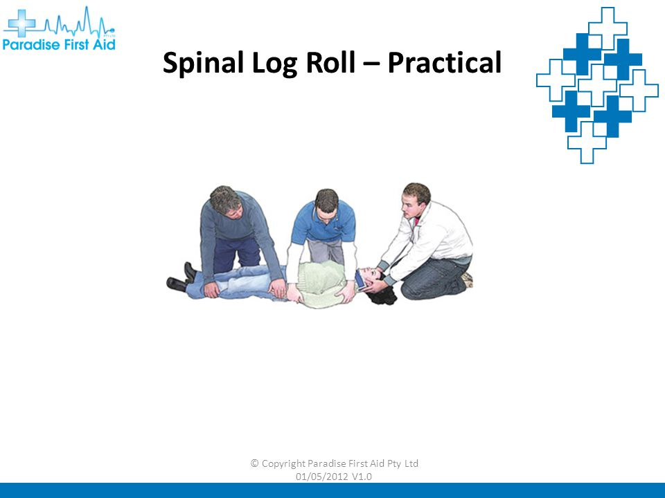 Spinal Log Roll – Practical