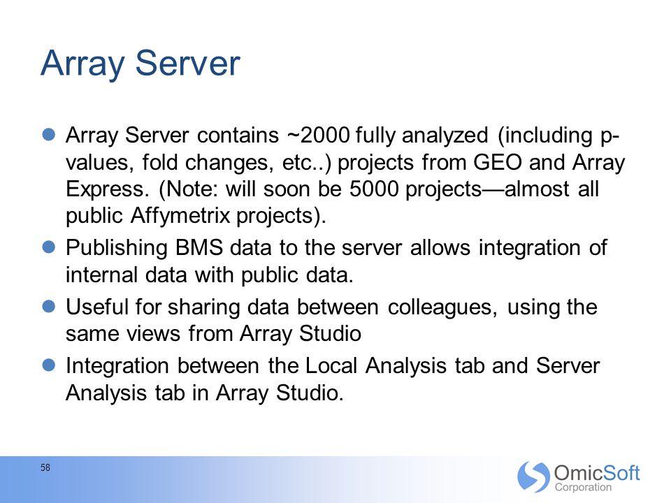 Array Server
