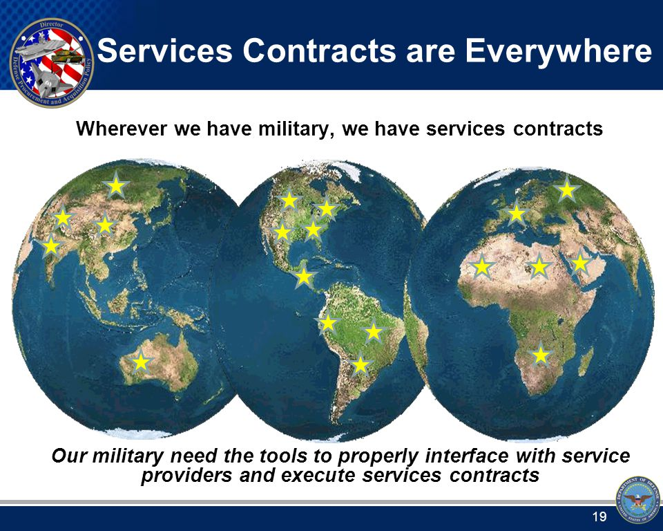 Services Acquisition & Strategic Sourcing Contacts