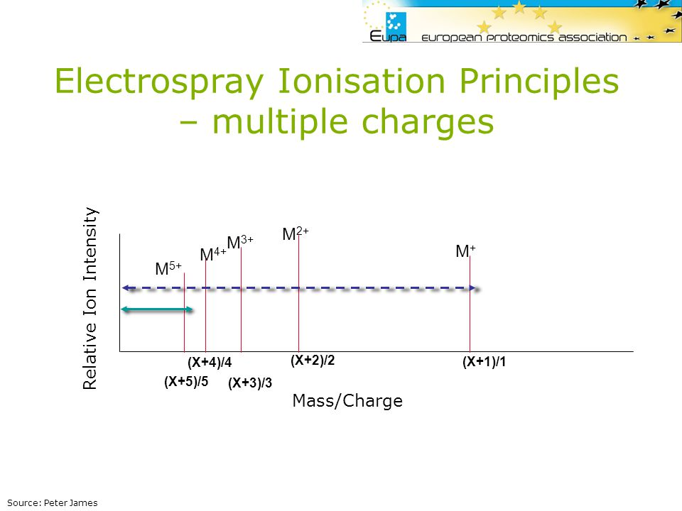 Electrospray Ionisation Principles – multiple charges