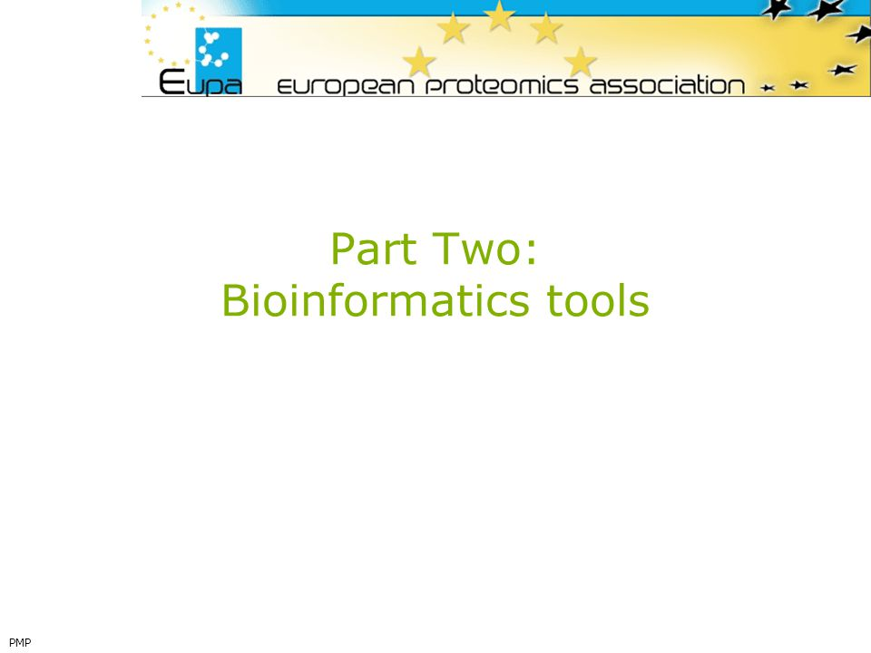 Part Two: Bioinformatics tools