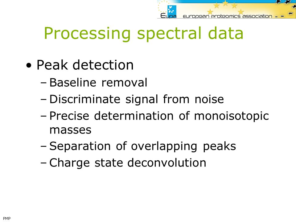 Processing spectral data