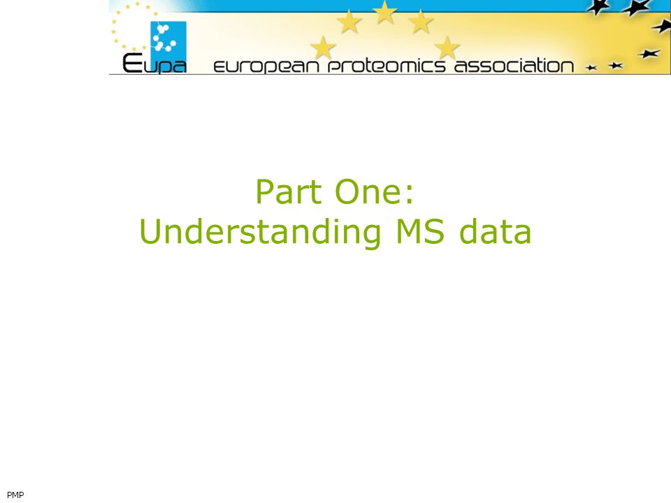 Part One: Understanding MS data