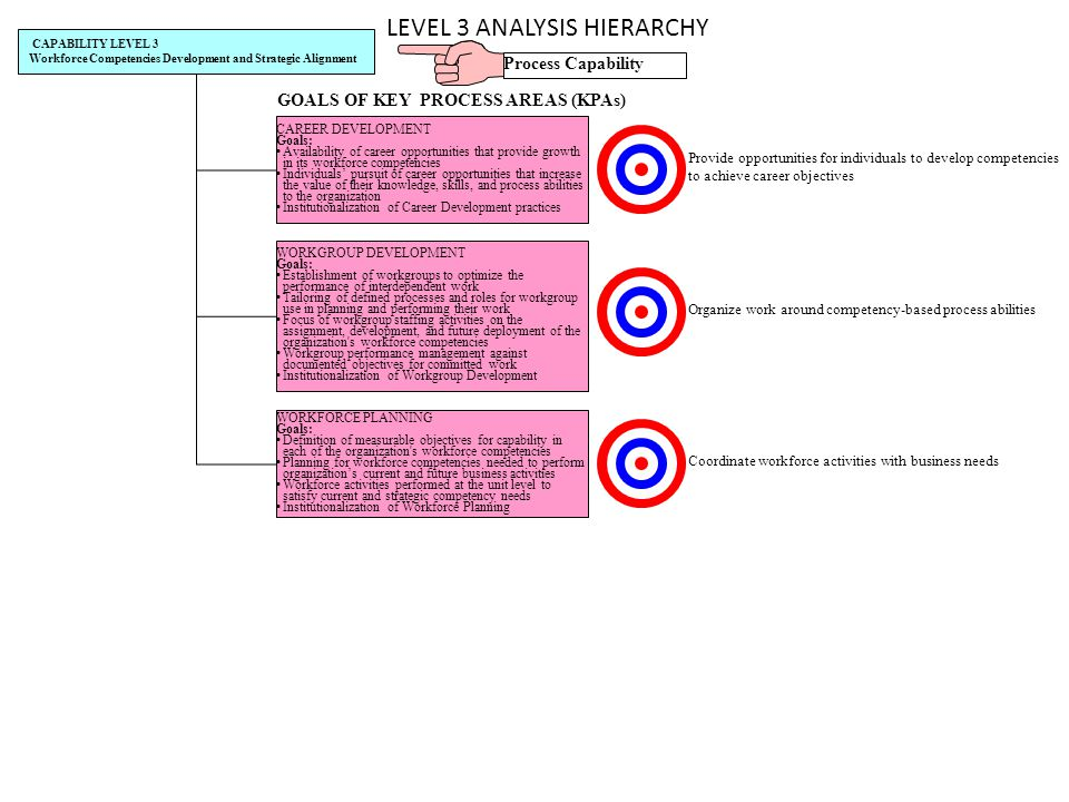 LEVEL 3 ANALYSIS HIERARCHY