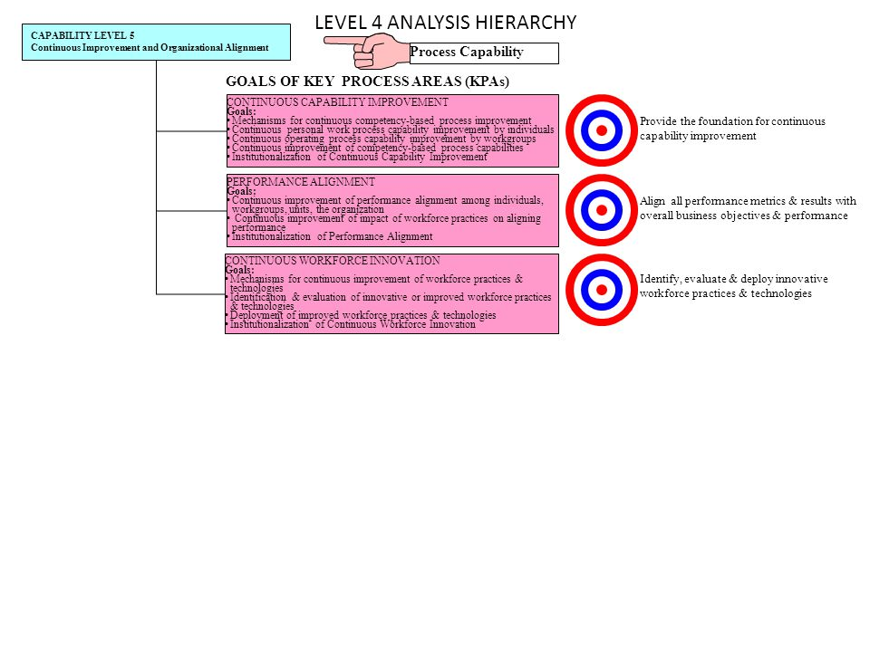 LEVEL 4 ANALYSIS HIERARCHY