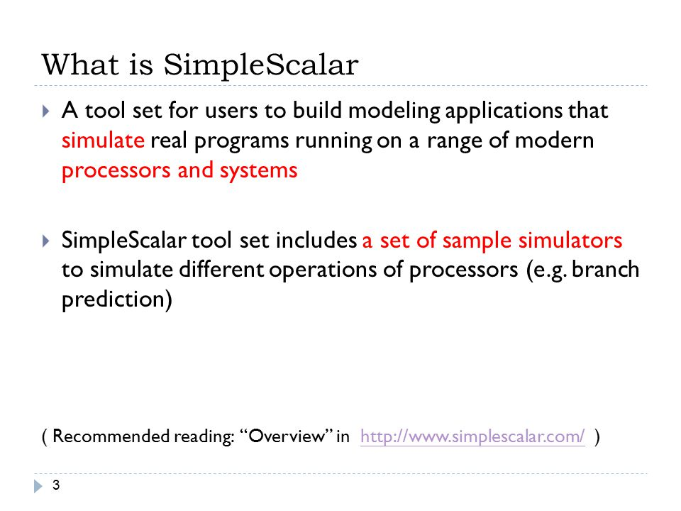 What is SimpleScalar