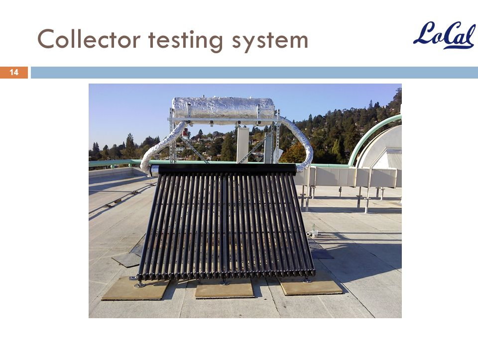 Collector testing system