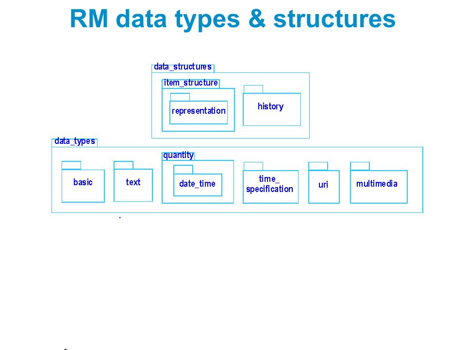RM data types & structures