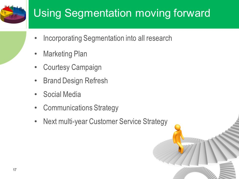 Using Segmentation moving forward