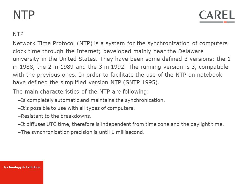 NTP NTP.