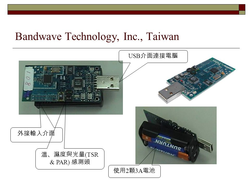 Bandwave Technology, Inc., Taiwan