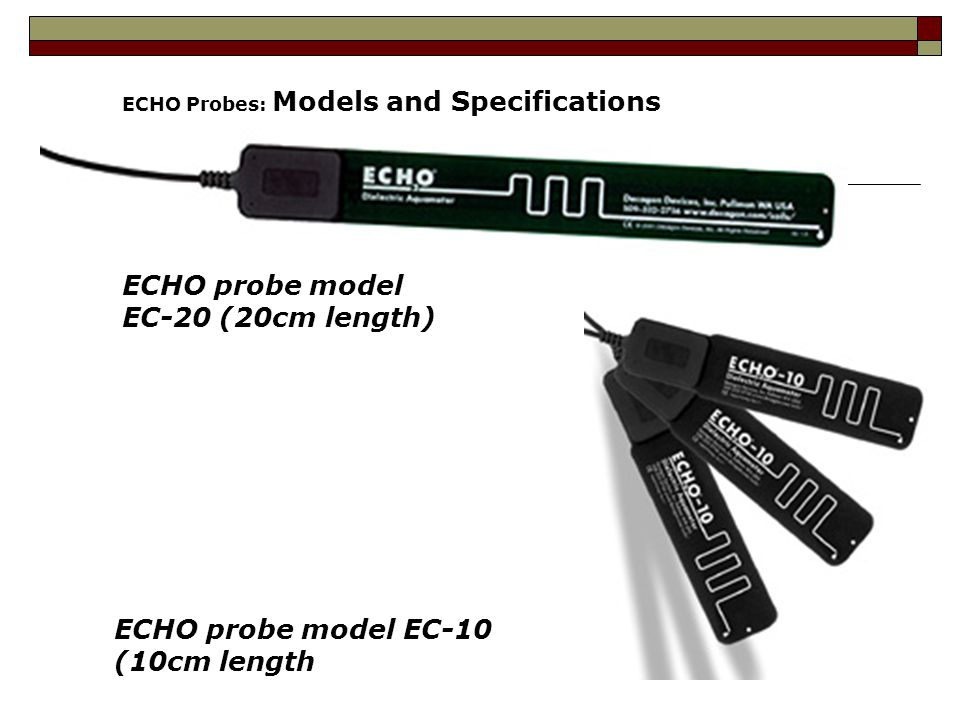 ECHO probe model EC-20 (20cm length)