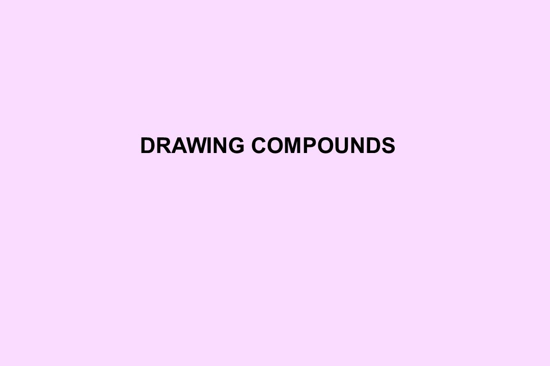 DRAWING COMPOUNDS