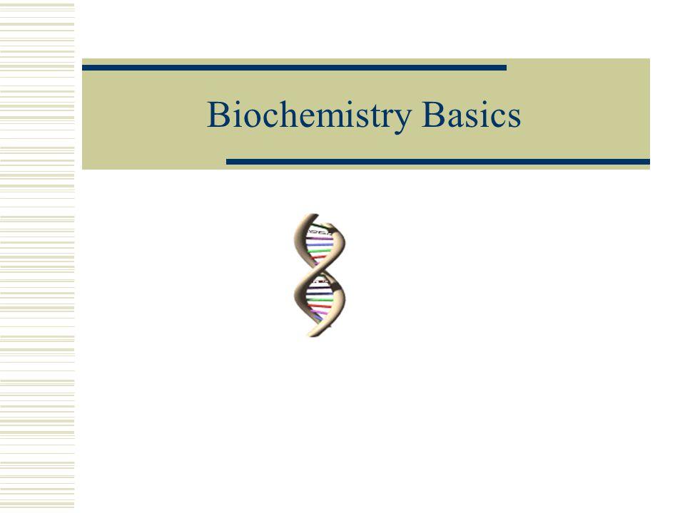 Biochemistry Basics