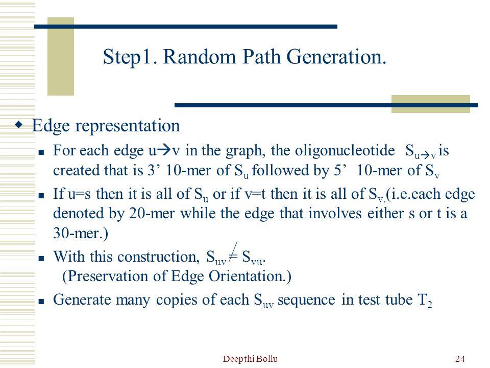 Step1. Random Path Generation.